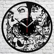 Disney Villains Vinyl Record Wall Clock Art Decor Original Gift 12'' 30cm 2568