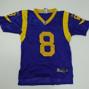 Los Angeles Rams Football #8 Bradford Youth Size M (10-12)