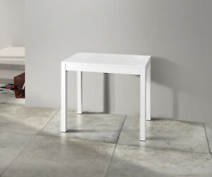 Console Table Extensible, Plan IN Oak, Metal Frame, Various Colors