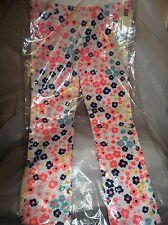 CHEROKEE TODDLER/GIRLS  FLORAL SKINNY LEG PANTS-SIZE 4T