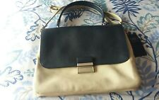 L@@K M&S NWT BLUE & CREAM SATCHEL TYPE ACROSS BODY MESSENGER SHOULDER BAG RRP£35