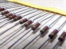 25 910R 0.25W carbon composition resistor ITT RC1/4GF910 J vintage solid