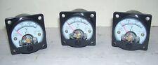 Kit 3 pezzi voltmetro analogico da pannello 0-300 volt AC