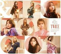 "TWICE 2nd Full Album ""&TWICE"" Type B (CD + DVD) Limited Edition Japan"