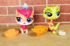 Littlest Pet Shop LPS LEMON FACE MCGILS Iguana 3704 SUGAR SPRINKLES Cat 3668 Lot