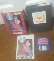 MICROPROSE SOCCER FOOTBALL SIMULATION - COMMODORE AMIGA