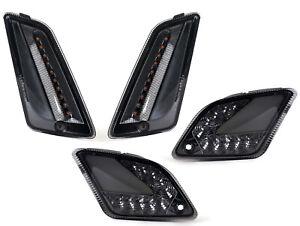 Vespa GT GTS 125 250 300 (to 2014) - Smoked LED Indicator Set - Daytime Running