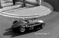 Alberto Ascari Lancia D50 Monaco Grand Prix 1955 Photograph
