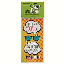 #618 MAGNETIC BOOKMARK funny present rude joke Fathers Day Birthday Gift