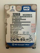 """Western Digital Scorpio Blue 2.5"""" PATA/IDE WD3200BEVE 320GB 5400RPM"""