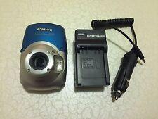 Canon PowerShot D10 12.1 MP Digital Camera - Silver blue