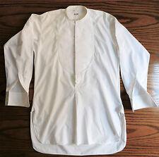Harrods tunic shirt 14.5 Marcella vintage pre-war 1930s collarless dress wear