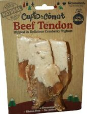 Rosewood 100% Natural Beef Tendon & Yoghurt For Dogs 175g Christmas Treat