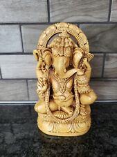 Ganesha Statue - Wood finish