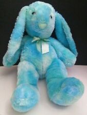 "Rare Kellytoy EASTER BUNNY RABBIT 22"" Plush Blue Green Teal Stuffed Animal!"