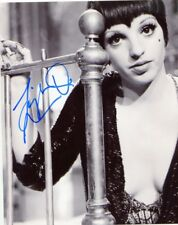 LIZA MINELLI SIGNED AUTOGRAPH 8x10 PHOTO AUTO AUTHENTIC ACTRESS