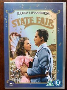État Fair DVD 1945 Rodgers & Hammerstein Musical Film Classique