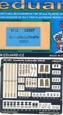 eduard Seatbelts Sitz-Gurte Luftwaffe WWII Ätzteile Ätzsatz 1:32 Modell-Bausatz