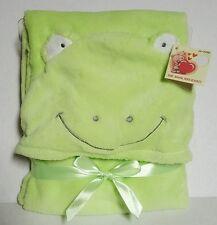 Baby Animal Hooded Plush Blanket