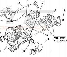 Maserati 3200 GT Right Hand Turbocharger - 585360000     3200 GT OS Turbo   EX02