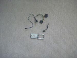 66 67 OEM Chevelle Front Speaker harness, Radio bracket + Radio speaker bracket