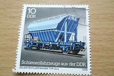 STAMPS- SCHIENENFAHRZEUGE AUS DER DDR (10 )DDR