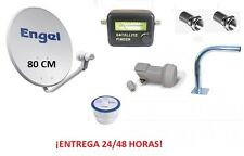 ANTENA PARABOLICA ENGEL 80 CM + SOPORTE + LNB + CABLE + LOCALIZADOR WIFIKIT806