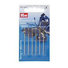 PRYM,Spleißnadel ohne Spitze f. 1-2mm Ø (6St.) SB-Karte, PR125555