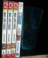Mad Love Chase 1-3, Ceres Celestial Legend 1 Lot of 4 Shojo Manga, English, 16+