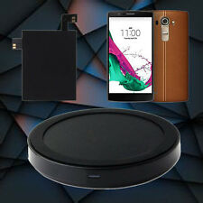 Qi Wireless Charger Charging Pad +Qi Receiver Sticker With NFC For LG G4 Charger