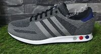Adidas LA Trainer Black White Red Grey Men's Trainers Limited Stock Fast Shiping