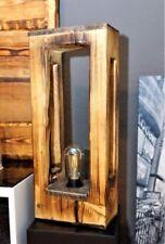 Tischleuchte / Stehlampe aus Massiven Holz / Lampe