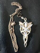 Arwens Abendstern Replik - Herr der Ringe - Halskette - Farbe Silber