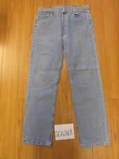 used Levi 501 USA repairs grunge feathered jean tag 38x34 Meas 34x32 22680F