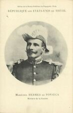 brazil, Minister of War Marshal Hermes Rodrigues da Fonseca (1906) Mission