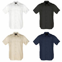 5.11 Tactical Men's PDU Short Sleeve Twill Class A Shirt 71183, S-6XL Short-Tall