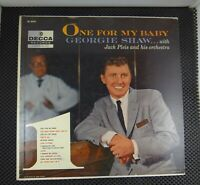 Georgie Shaw, Jack Pleis And His Orchestra – One For My Baby (Decca – DL 8379)