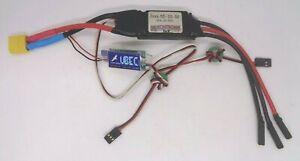Kontronik JAZZ 55amp brushless SPEED CONTROLLER + HOBBYWING 3AMP BEC  good cond