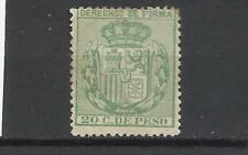 6096-SELLO FISCAL FILIPINAS COLONIA ESPAÑA 1878 DERECHOS DE FIRMA SPAIN REVENUE