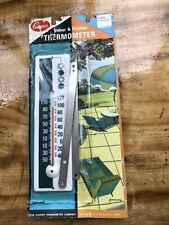 Vintage Cooper Indoor Outdoor Thermometer Model 605