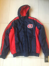New Montreal Canadiens Embroidered Authentic GIII Coat Jacket size Large hooded