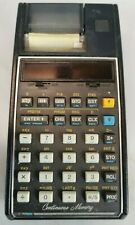 CALCULATRICE vintage marque HEWLETT PACKARD modele 19C Calculator HP Calcul B