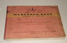 Catalogo Ricambi Mercedes Benz Camion Tipo L 2624 / la 2624 Telaio Uscita A