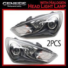 New Halogen Head Light Lamp LH & RH OEM Set for 2013-2014 Hyundai Genesis Coupe