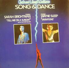 SARAH BRIGHTMAN + WAYNE SLEEP-TELL ME ON A SUNDAY + VARIATIONS LP VINILO DOUBLE