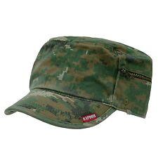 CAMO ARMY MILITARY GI BDU ZIPPER POCK PATROL CAP HAT WD