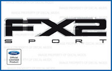 set of 2 - 09-11 Ford F150 FX2 SPORT Decals FB Stickers Truck Bed Side graphics