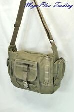Ahmik Casual Canvas Cross Body Shoulder Messenger Bag B3109 Khaki