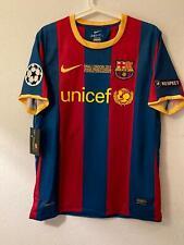 Camiseta Especial Local Barcelona Messi 10 Talla M Final Champions League 2011
