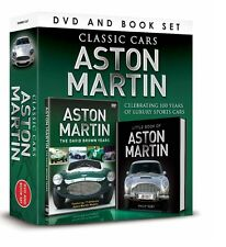 CLASSIC CARS ASTON MARTIN BOOK & DVD GIFT SET - THE DAVID BROWN YEARS